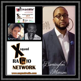 Special Guest: Filmmaker, Producer and Writer, Barrington Marson!
