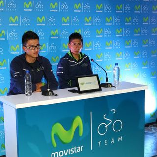 Audio Rueda de prensa completa Nairo  y Winner