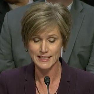 Yates Admits Undermining President