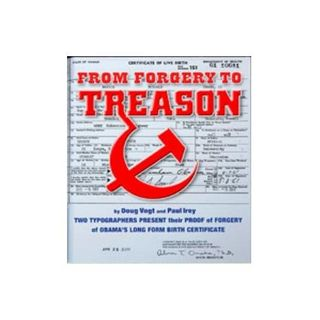 Law Signed by George Washington May Convict Obama Fraud Conspirators