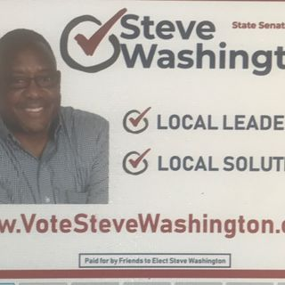 Mz Optimizm Speaks™ to Steve Washington. Candidate for Starr Senate, District 1
