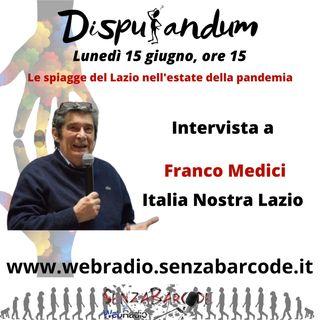 Le spiagge del Lazio nell'estate della pandemia. Intervista a Franco Medici, presidente Italia Nostra Lazio