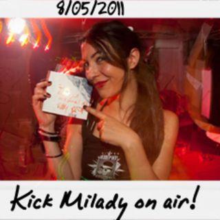 Dance to the radio - Kick Milady aka Chiaretta on air (08.05.2011)