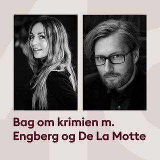 Tankerne bag Katrine Engberg og Anders de la Mottes krimier