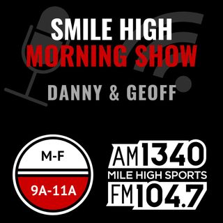 Monday Apr 29: Hour 2 - Hows it going with Drew Lock; Nuggets or Rockets & Warriors; Daniel Jones Bond character; Checking the text line