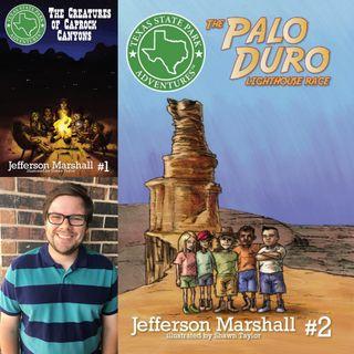 Texas State Park Adventures Kids Books - Jefferson Marshall on Big Blend Radio