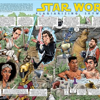 Star Wars Splash Page #205 -- Star Worse -- The Claptrap Interview Episode (Totally Not Mad!)