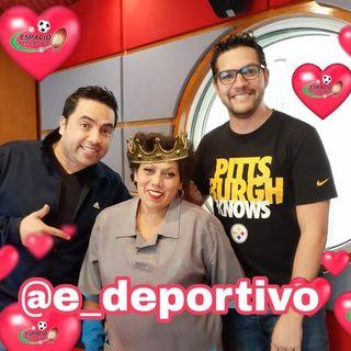 Celebrando el día de Darle Amor a la Amistad en Espacio Deportivo de la Tarde 14 de Febrero 2020