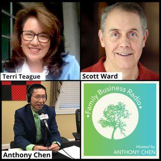 Family Business Radio, Episode 13: Terri Teague, Smallbiz.Consulting, and Scott Ward, Corporate Real Estate Advisors