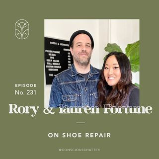 S05 Episode 231 | GOODS & SERVICES ON MODERN SHOE REPAIR + REFRAMING OUR UNDERSTANDING OF THE SNEAKER LIFESPAN — AKA SNEAKER REPAIR IS POSSI