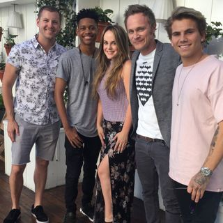 Tyrel Jackson Williams, David Anders & Jordi Whitworth