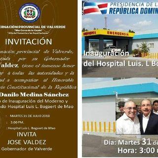 Presidente Danilo Medina Inaugurará hospital