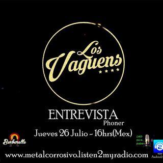 Entrevista Los Vaguens