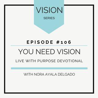 #106  VISION: You need Vision