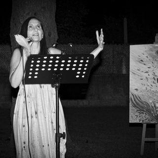 Giulia da Los Angeles alle Terme per presentare il suo progetto artistico