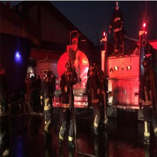 Controlan incendio en mercado de Tepito