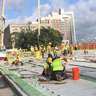 'Great Progress' Made On Comm Ave Bridge Project, MassDOT Says