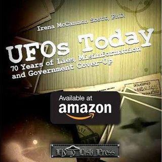 Dr. Irena Scott PhD.  Speaker MUFON 50th for ACO  UFO Club TR Becker, TJ Morris,