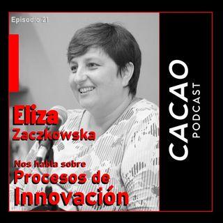 E21 Eliza Zaczkowska. Nos habla sobre implementación de Procesos de Innovación, Cambio, Tecnología.