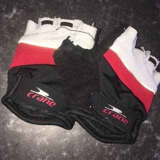 Elaine's cycling gloves