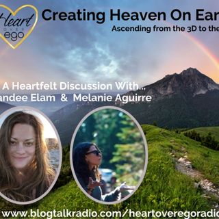 Creating Heaven On Earth: Ascending from the 3D to the 5D with Melanie Aguirre