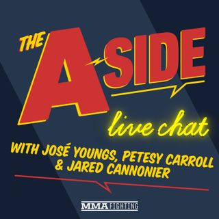 The A-Side Live Chat w/ Jared Cannonier