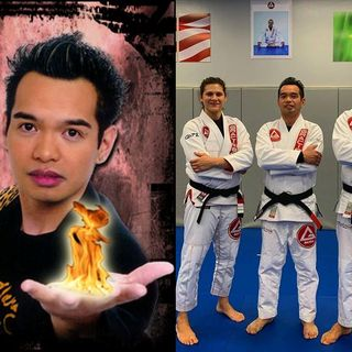 Jethro Alcuaz Magical Black Belt