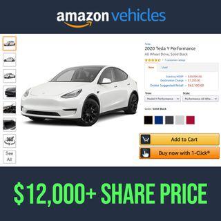 36. Amazon EV Vehicle Sales Will Skyrocket Stock Price To $12,000 | $AMZN