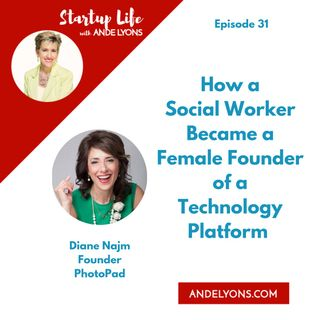 How a Social Worker Became a Female Founder of a Technology Platform