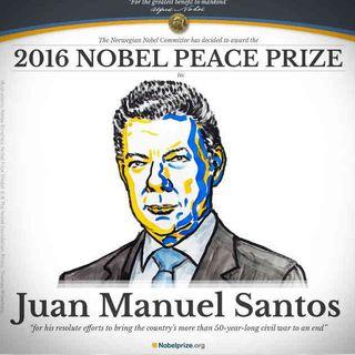 Premio Nobel de Paz para el Presidente Juan Manuel Santos, es un claro reflejo de que vamos por buen camino en la búsqueda de la Paz