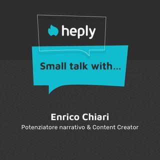 Small Talk With...Enrico Chiari