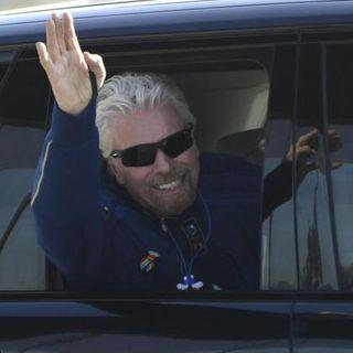 Branson brucia sul tempo Bezos