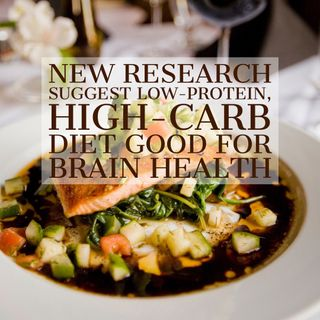 Brain health- Low-protein, high-carb diet just as good as low-calorie diet- podcast