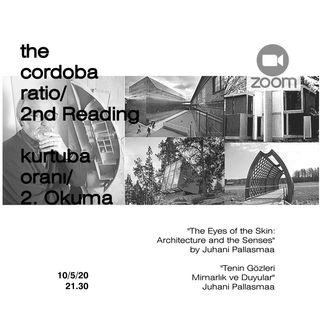 Tenin Gözleri 2. Okuma | The Cordoba Ratio Reads  | Kurtuba Oranı Okumaları