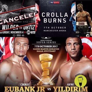 Eubank v Yildirim, Wilder v Ortoz cancelled