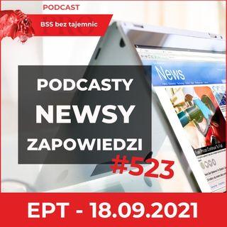 #523 Podcasty, Newsy, Wydarzenia, czyli Ekspresowe Podsumowanie Tygodnia na dzień 18 września 2021