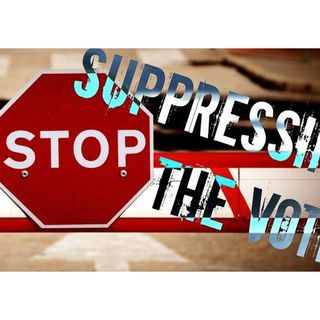 Why are the Republicans making it harder to vote? voter suppression its just sad
