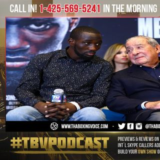 ☎️Terence Crawford NOT Leaving Bob Arum & Top Rank❓Blame Bob's Comments On Old Age🤔