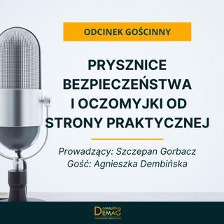Odcinek gościnny: Prysznice bezpieczeństwa i oczomyjki od strony praktycznej - rozmowa z Szczepanem Gorbaczem (Amargo)
