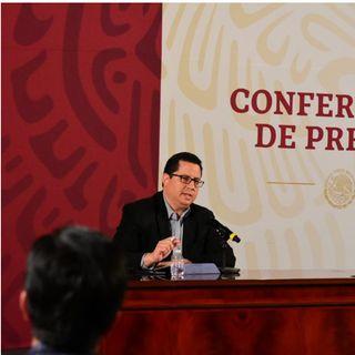 5 mil 14 casos confirmados por Covid-19 en México