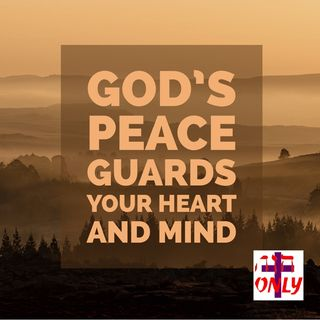 How God's Peace which transcends all understanding mounts guard over your heart and mind as A Soul Umpire.