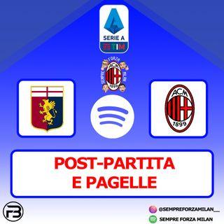 GENOA-MILAN 2-2 | PAGELLE e POST-PARTITA