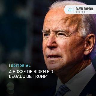 Editorial: A posse de Biden e o legado de Trump