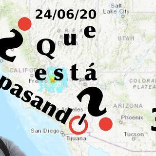 Coronavirus y Terremotos | ¿Que esta pasando? 35 (24/06/20)