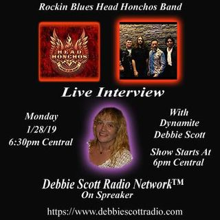 ROCCO OF THE HEAD HONCHOS ROCCO  INTERVIEW BY DYNAMITE DEBBIE !!!  1-28-19