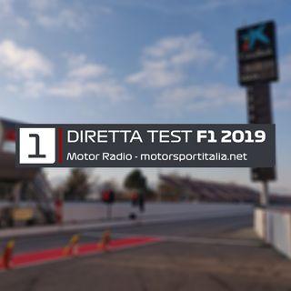 Diretta Test Barcellona 2019, Giorno 1
