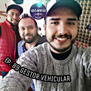 Ep. 89 RadioRocamora - GESTOR VEHICULAR