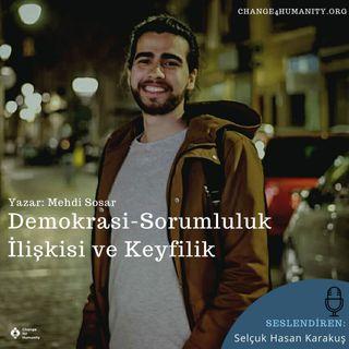 Seslendirme: Demokrasi, Sorumluluk İlişkisi ve Keyfilik