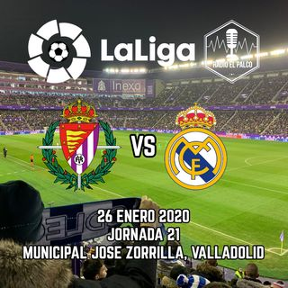 Real Valladolid vs Real Madrid en VIVO