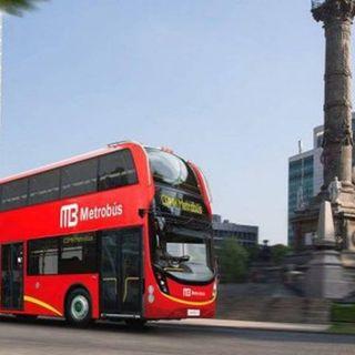 Varias estaciones del metrobús sin servicio por desfile